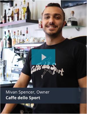 Caffe dello sport mobile