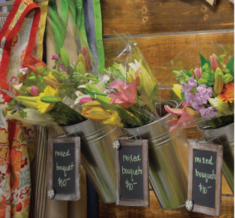 Customer flowers