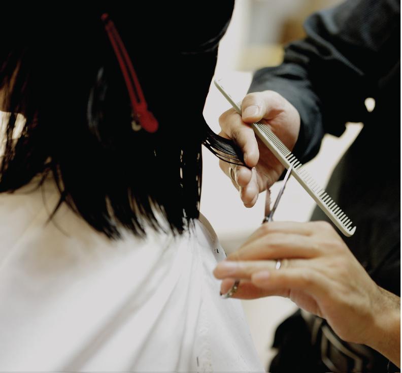 Customer haircut