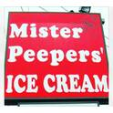 Mr. Peeper's Ice Cream.